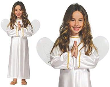 GUIRMA niña Traje de ángel con alas: Amazon.es: Juguetes y juegos