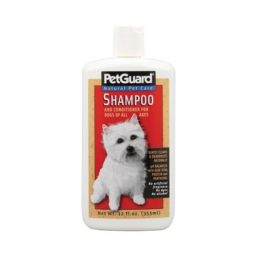 Pet Guard Shampoo and Conditioner for Dog, 12 Ounce - 6 per case.