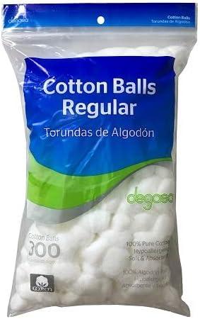 Degasa 814374 - Bolas de algodón (300 Unidades, 24 Unidades ...