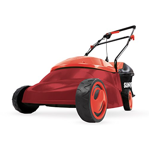 Sun Joe MJ401E-PRO-RED Electric Lawn Mower, Red