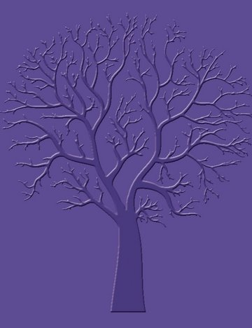 Craft Concepts Embossing Folder - Sycamore