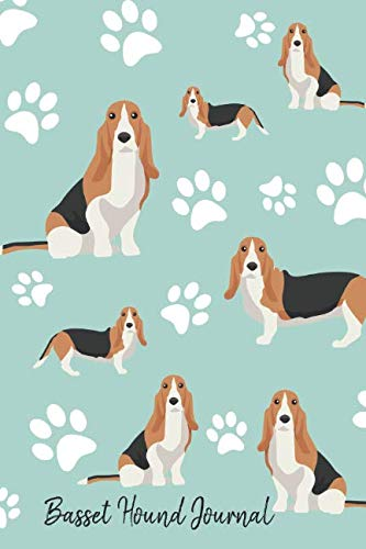 Basset Hound Journal: Cute Dog Breed Journal Lined Paper (Dog Journals) 1