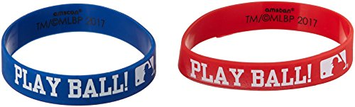 """MLB Collection"" Rubber Bracelets, Party Favor"