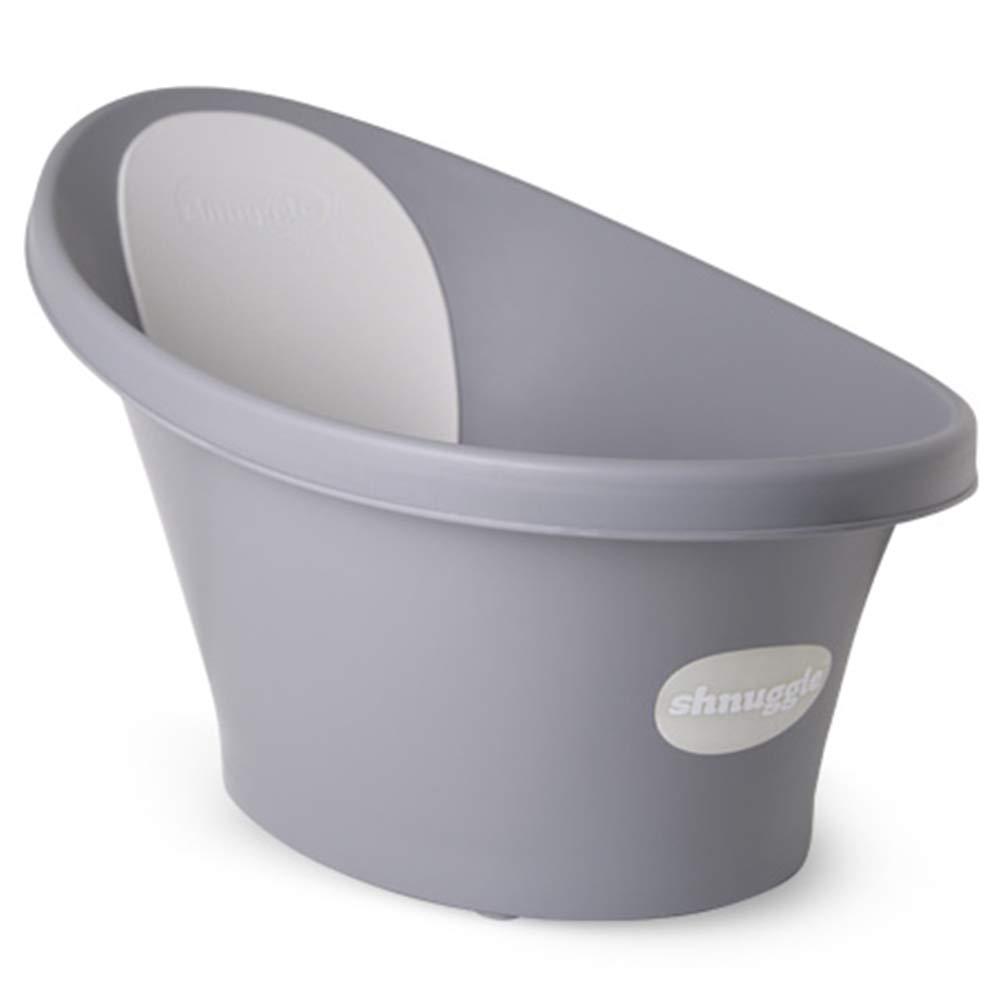 [シュナル] Shnuggle ベビーバスタブ - コンパクトサポートシート, 簡単な入浴時間, 英国で設計された, 012ヵ月 (ロイヤルグレー) [海外直送品] [並行輸入品]   B07GNFBVV9