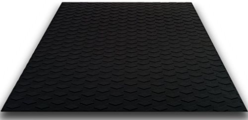 Traction Non-Slip Grip Mat [20in x 20in] - Versatile & Trimmable Sheet of EVA Pad with 3M Adhesive. Perfect for Boat Decks, Kayaks, Surfboards, Standup Paddle Boards, Skimboards & More. Guaranteed to