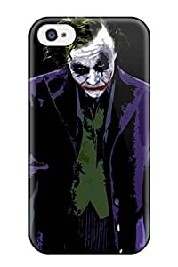 Top Quality Rugged The Joker - The Dark Knight Case Cover For Iphone 4/4s