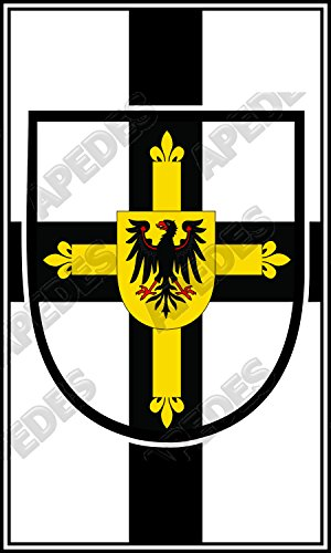 Teutonic Order Grand Master Computer Tablet Decal Sticker 3x