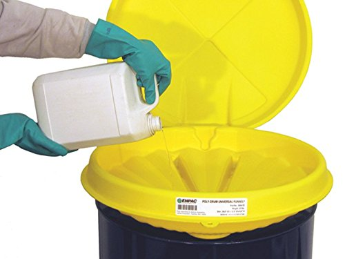 The Workplace Depot Polyethylene Drum Cover with High Side Wall Fits Closed/Open 210 l Drums