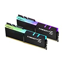 G.SKILL F4-3200C16D-16GTZR Trident Z RGB Series 16GB, 288-Pin SDRAM DDR4-3200MHz (PC4 25600) Desktop Memory