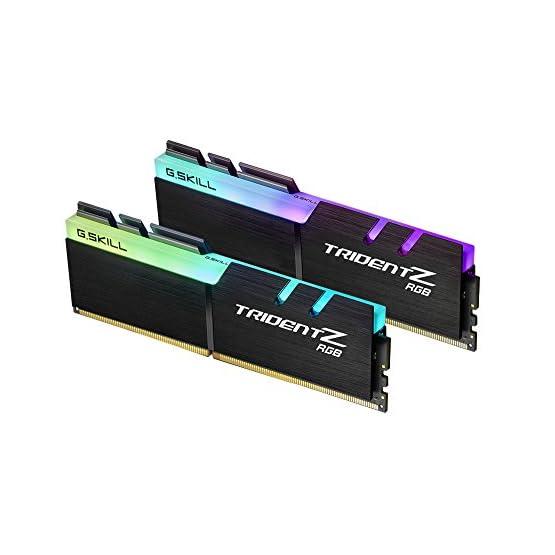 G.SKILL F4-3000C16D-16GTZR Trident Z RGB Series 16GB, 288-Pin SDRAM DDR4-3000Mhz (PC4 24000) Desktop Memory 4199ul5 SHL. SS555