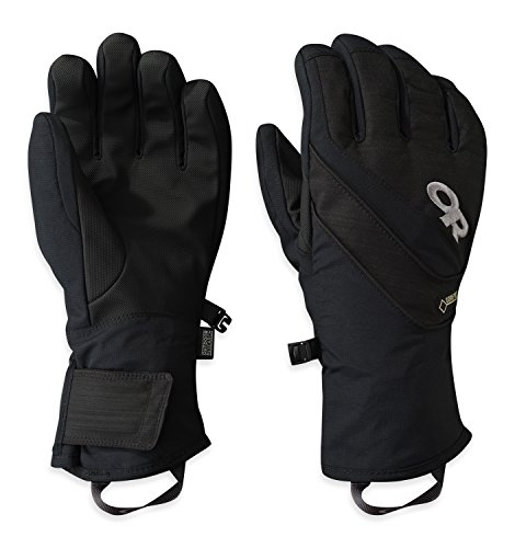 Outdoor Research  Women's Centurion Gloves, All Black, S