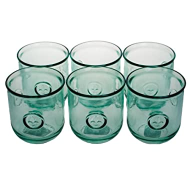 Amici Fleur De Lis Glasess, 11 oz - Set of 6
