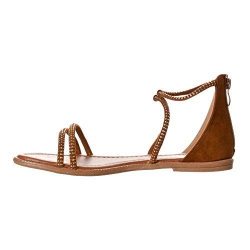 Forever Gladiator Forever Tan Link Womens Womens 70 Kasey Link Sandals TB7EBq