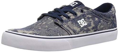 Tx Mode blue Navy Baskets white Dc Trase Homme Shoes wznfqxCHC6