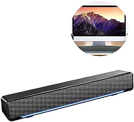 ZZWBOX Altavoz Bluetooth portatiles Energy sistem,Altavoces Estudio pc,Speaker Bluetooth Waterproof,Diseño Oculto, conexión automática Bluetooth 4.2, luz Ambiental,Black: Amazon.es: Hogar