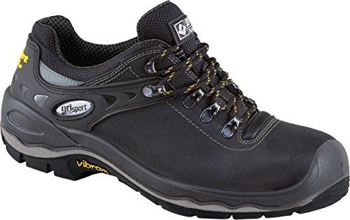gri Deportes zapato de trabajo Dakar V.8, S3, zapatos de seguridad negro