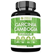 Garcinia Cambogia Weight Loss Pills - 100% Natural 60% HCA Pure Extract Appetite Suppressant, Metabolism Booster, Fat Burner Diet Supplements For Men And Women - Vegan Non-GMO Gluten Free -90 Capsules