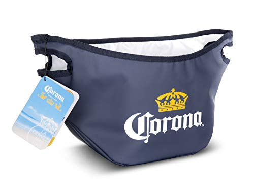 Styrofoam Ice Buckets For Parties (Vacu Vin 36280606-COA Collapsible Ice Bucket Corona Beer Accessory, One Size,)