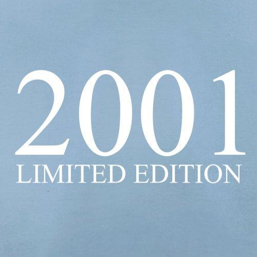 2001 Limierte Auflage / Limited Edition - 16. Geburtstag - Herren T-Shirt - Himmelblau - M