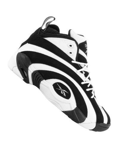 Reebok, Sneaker uomo Argento Silver, Green, Black