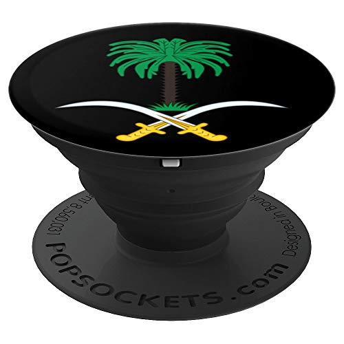 Saudi Arabia Coat of Arms National Emblem Patriotic Gift  PopSockets Grip and Stand for Phones and Tablets
