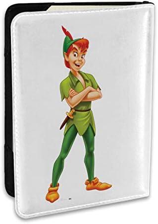 Peter Pan ピーターパン パスポートケース メンズ 男女兼用 パスポートカバー パスポート用カバー パスポートバッグ ポーチ 6.5インチ高級PUレザー 三つのカードケース 家族 国内海外旅行用品 多機能