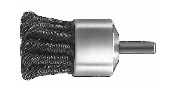 Milwaukee 48-52-1055 1-1//8-Inch Knotted End Brush
