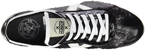 Munich Schwarz Beige EU Osaka Damen Sneaker 36 rnqBCrgW