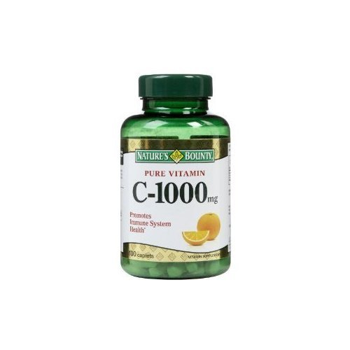 Nature's Bounty Vitamin C Pills and Supplement, Supports Imm