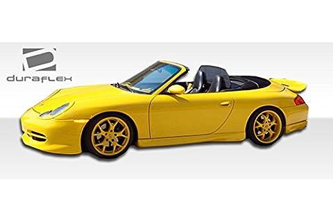 1999-2004 Porsche 911 996 Duraflex GT-3 Look Side Skirts Rocker Panels - 2 Piece - Aero Kit Side Skirts
