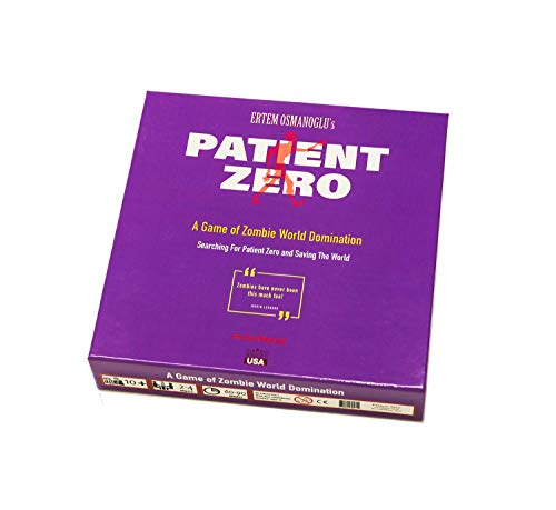 Patient Zero - A Zombie Board Game for Adults, Teens, and Family, Ages 10 Years and Up. Zombies Have Never Been This Much Fun! Zombie Game of The Year.