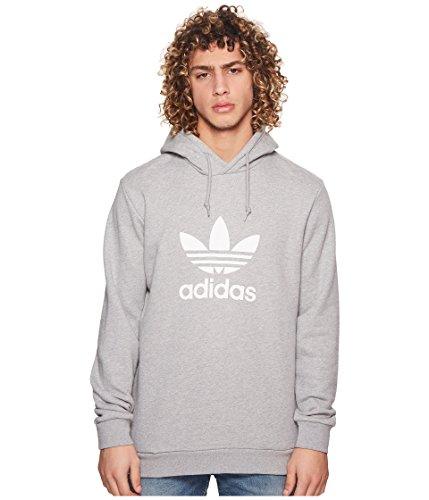 adidas Originals Men's Trefoil Hoodie Medium Grey