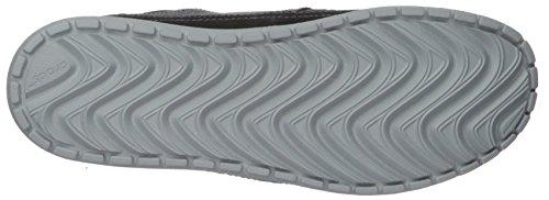 Crocs Men's Santa Cruz Playa Lace-Up Sneaker | Comfortable Casual Loafer, Black/Black, 11 M US