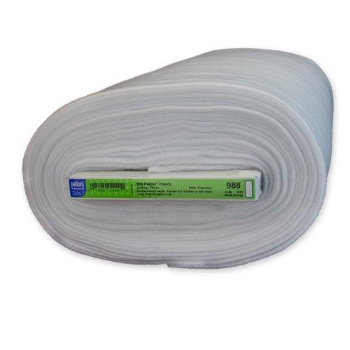 Pellon 988 Fleece - White - 45'' x 10 yards by Pellon