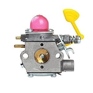 HIPA WT-847 Carburetor with Fuel Line Filter Spark Plug for Poulan Weed Eater Blower BVM200VS PPB430VS VS2000BV