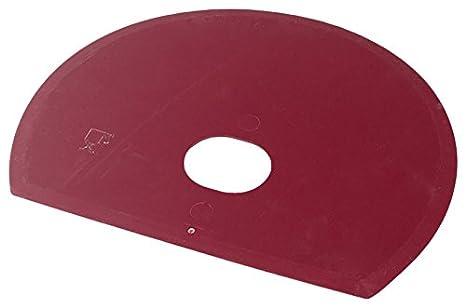 Maya 71915 - Espátula Flexible Redonda, Metal Detectable y Rayos X, con Agujero, 160 x 125 x 1,65 mm, Rojo: Amazon.es: Industria, empresas y ciencia