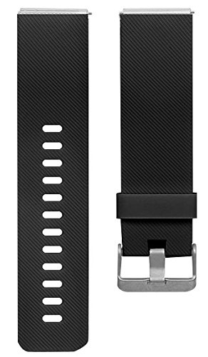 Newest Fitbit Blaze Band, BeneStellar Silicone Replacement Small Large Band Bracelet Strap for Fitbit Blaze Smart Fitness Watch, Black, Small