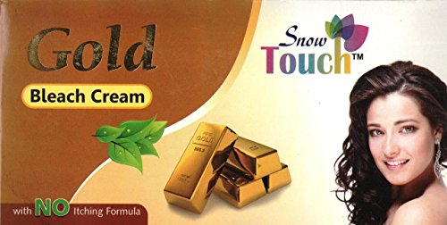 Pearl Bleach Cream, 300gm. With No Itching Formula by Snow Touch
