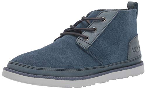 UGG Men's Neumel Unlined Leather Chukka Boot, pacific blue, 10 Medium US (Ugs Men)