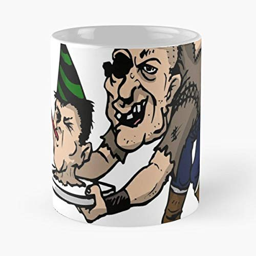Halloween Trick Or Treating Usa America Horror Gift Candy Party Celebrate Fun - 11 Oz Coffee Mugs Unique Ceramic Novelty Cup, The Best Gift For Halloween.]()