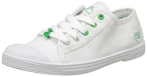 Le Temps des Cerises Basic 02 Sport - Botas Niñas Blanc (Sport Green)