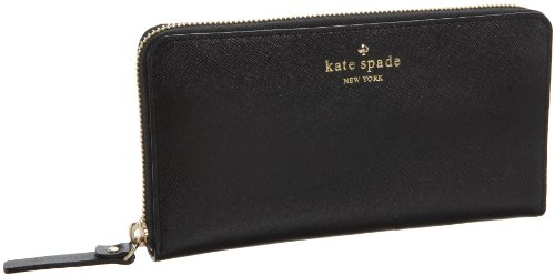 Kate Spade Mikas Pond Lacey Wallet,Black,one size, Bags Central
