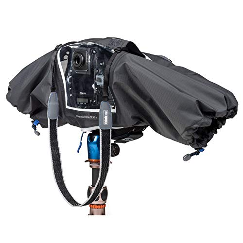 Think Tank Photo Hydrophobia D 24-70 V3 Camera Rain Cover for DSLR Camera with 24-70mm f/2.8 Lens by Think Tank (Image #1)