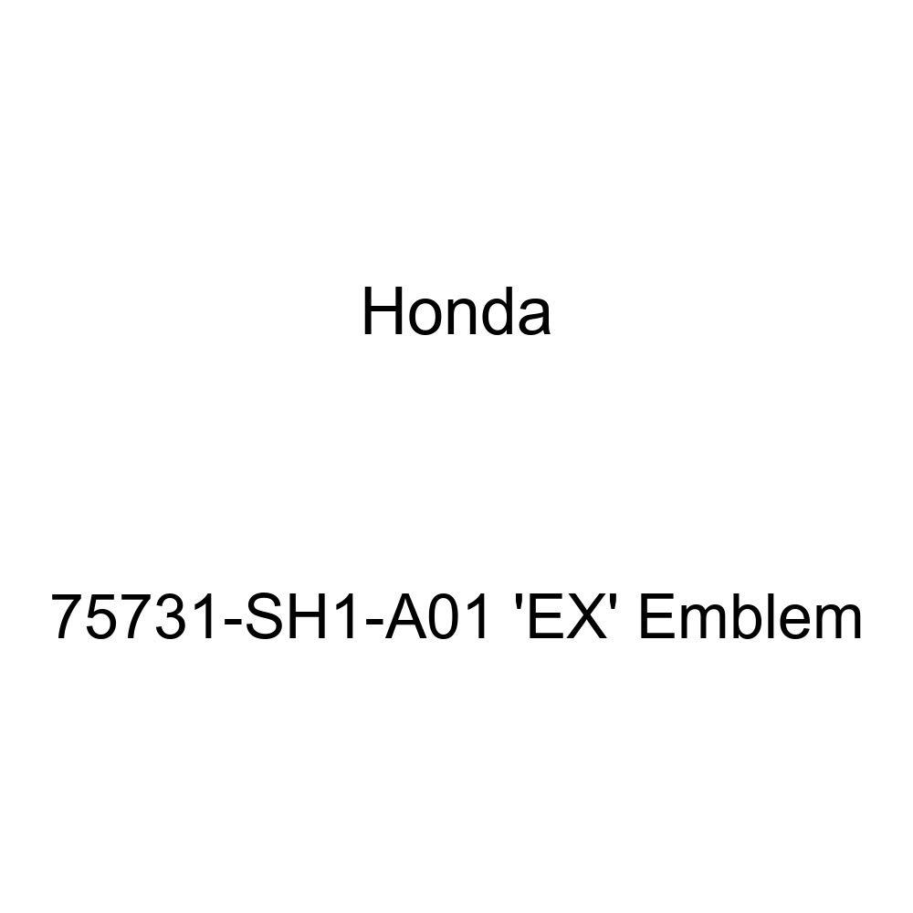 Genuine Honda 75731-SH1-A01 EX Emblem