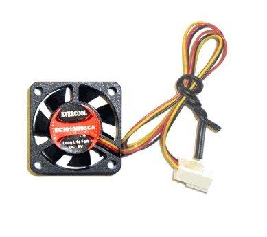 (Evercool 25mm X 10mm 5Volt Fan - (EC2510M05CA))