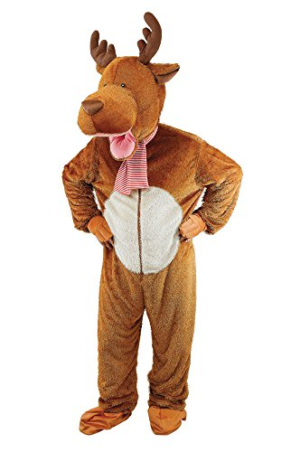 Bristol Novelty AC942 Big Head Reindeer/Moose Costume, 44-Inch Chest Size -
