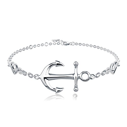 925 Sterling Silver Anchor - 2