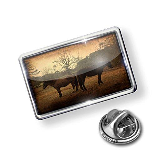 hot Pin Horses Vintage - Lapel Badge - NEONBLOND big discount