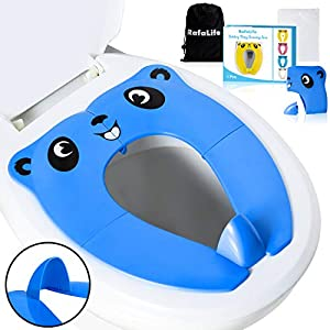 RafaLife Bath Toys - Portable Toilet Training Seat for Toddlers