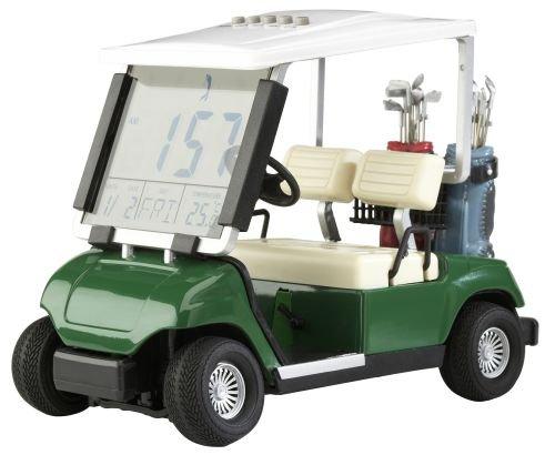Mini-Golfcart mit mit Uhrzeit, Datum, Temperaturanzeige